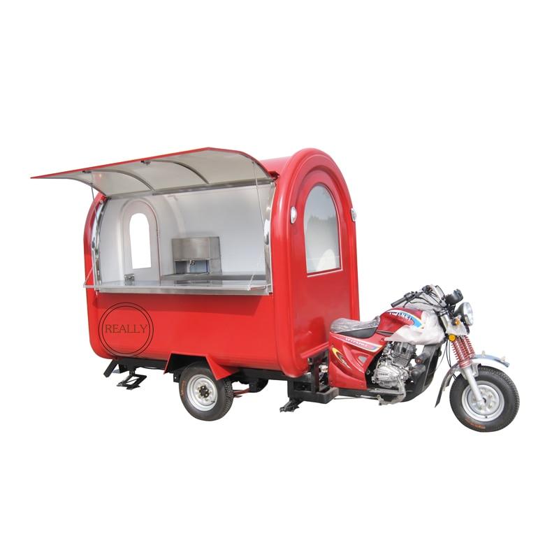Triciclo eléctrico bicicleta con carrito de comida móvil en venta bicicleta para cafés eléctrica motor camión de comida