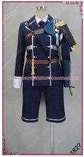 Vendita calda Touken Ranbu Online Atsu Toushirou Cospaly Costume Nakigitsune Poliestere Fresco Uwowo Costume Top & Pants & Armatura Cintura