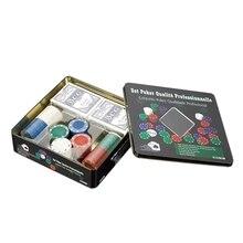 Chip Set Poker Chips 100 Chips Texas Holdem Poker Board Game Chips