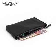 Long Wallet Men Luxury Brand Genuine Leather Women Phone Wallets Clutch Zipper Money Bag Credit Coin Purses Travel Change Purse