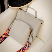 2 комбинации сумки для родителей цветной ремешок SJ женские кожаные сумки через плечо женская сумка-мессенджер сумки ручные сумки ручной раб...