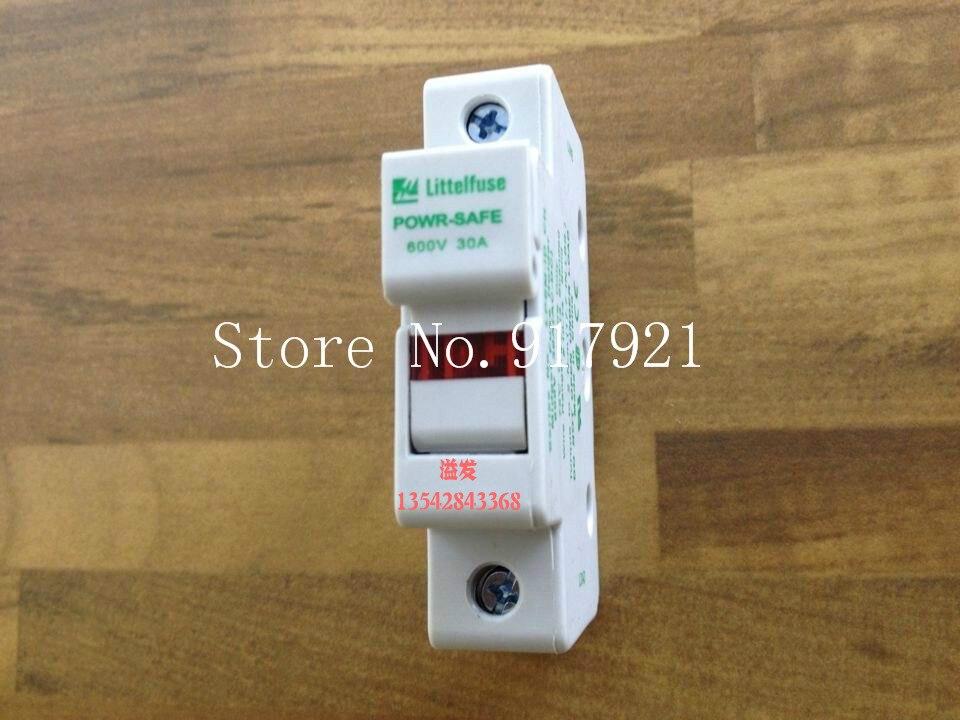 [ZOB] los Estados Unidos Litteltuse LPSM-1D 10X38 Lite portafusibles 30A 600VAC/DC original y genuino -- 20 unids/lote