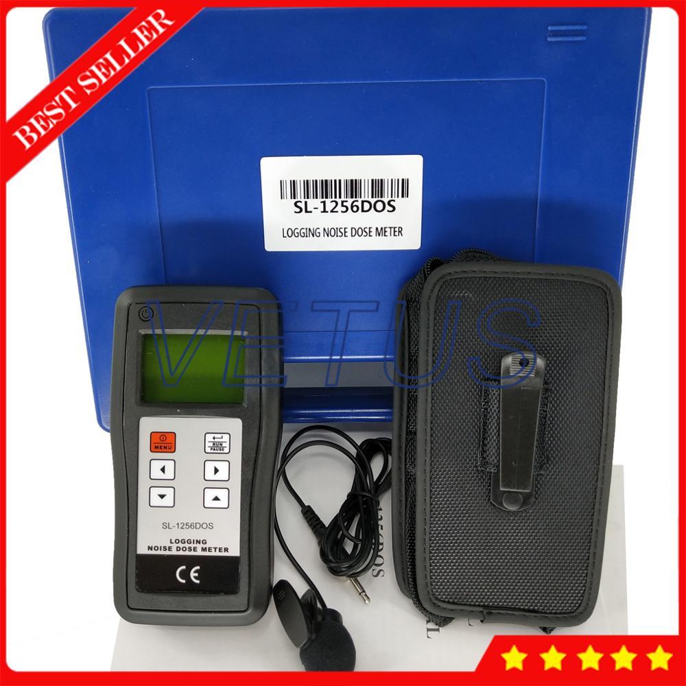 SL-1256DOS детектор шума и звука измеритель уровня с цифровым диагностическим инструментом звуковой децибел