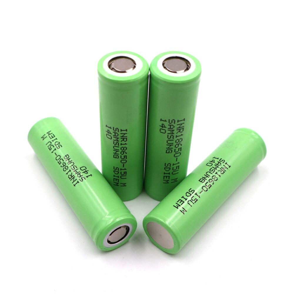Li-ion 1500mAh 15M 3 uds batería 18650 recargable, batería de herramienta eléctrica, tasa de descarga 20C, batería de Gran Aumento