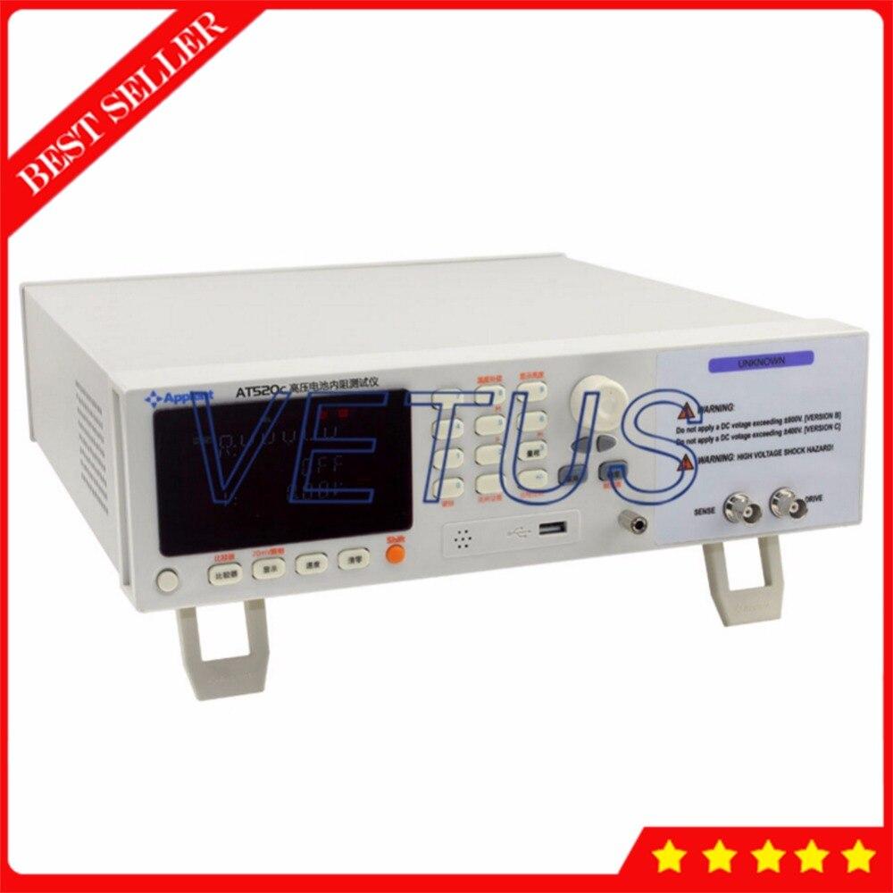 400 В измеритель напряжения VFD дисплей цифровой детектор литиевой батареи с AT520CHigh напряжение батареи внутреннее сопротивление тестер