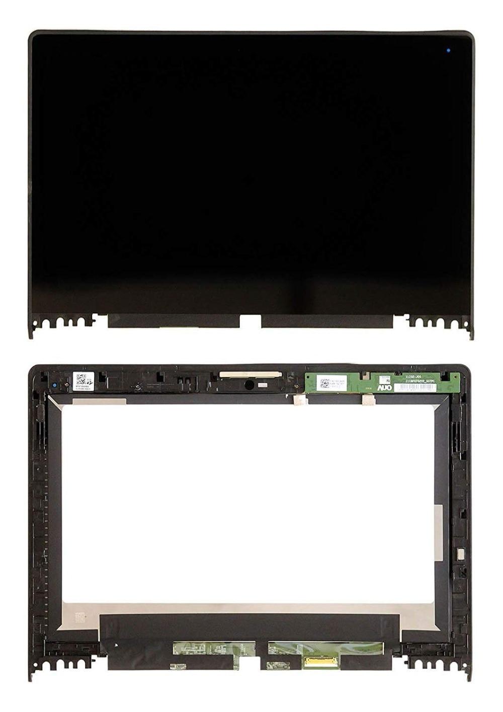 11,6 pulgadas HD IPS LED pantalla LCD de montaje de digitalizador con pantalla táctil + bisel para Lenovo IdeaPad Yoga 2 11 20332 de 20428 de 20187