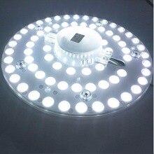 Светодиодные панели, 12 Вт, 18 Вт, 24 Вт, 36 Вт, потолочный светильник 5730SMD, светодиодные светильники, теплые белые, естественные, белые, чистые белые лампы, AC165-265V