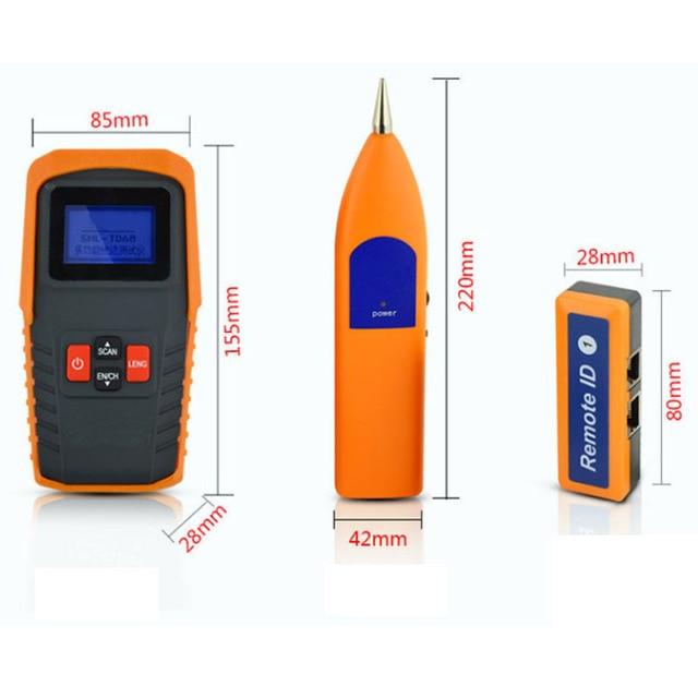 Analizadores de red multifuncional RJ11 Cable de teléfono USB Cable de red probador automático detectar rastreador de cables de alta calidad