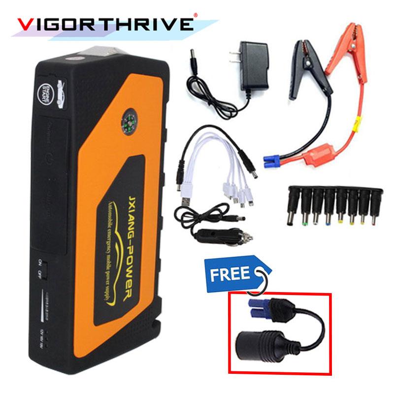 Mini arrancador de batería de coche portátil de alta calidad de 12V Jumper aumento de potencia teléfono móvil portátil banco de energía cargador de batería gran oferta