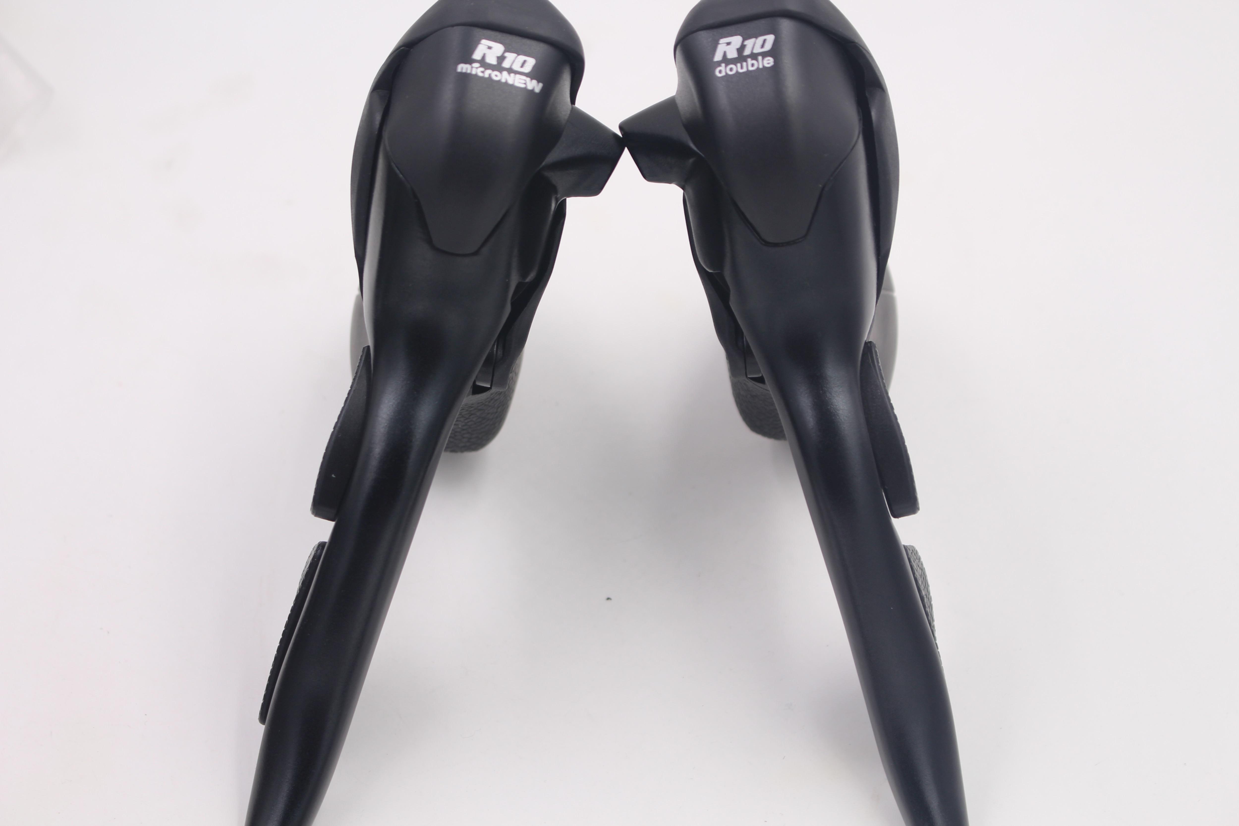 Дорожный велосипед микронев STI Shifters, 2x10 скоростей, совместим с Shimano 105 STI ST-5700 4600 Shifters Groupset