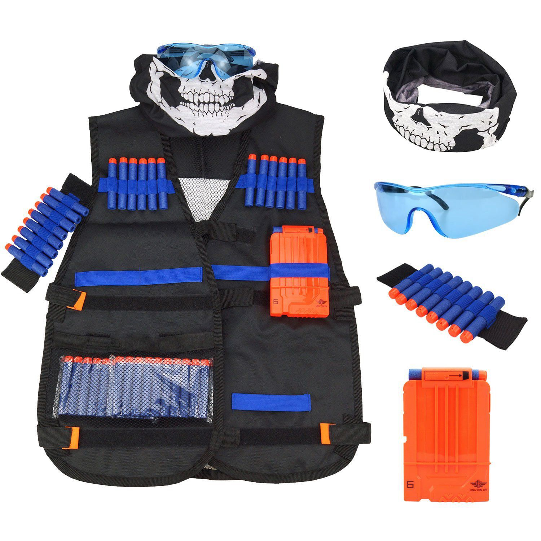 Kit de chaleco para pistolas NERF serie n-strike