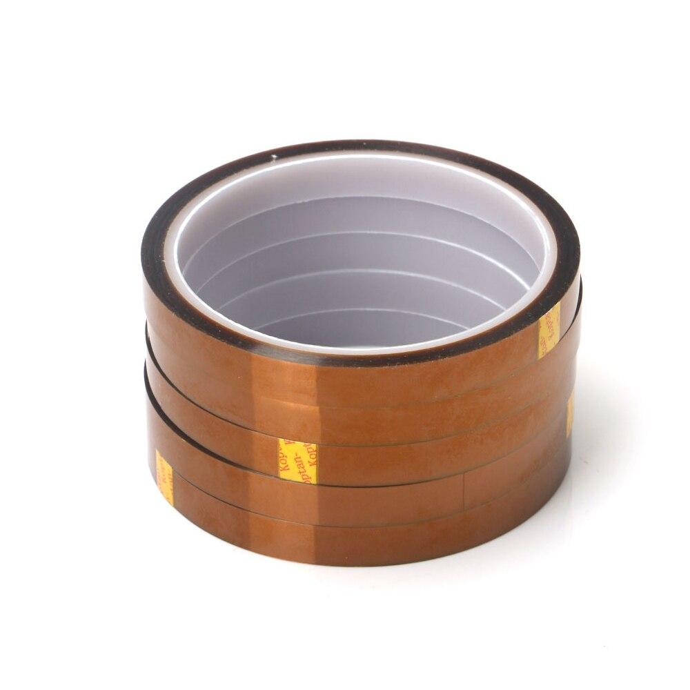 1 pc 5mm x 30 metro resistente ao calor de alta temperatura poliimida fita adesiva isolação