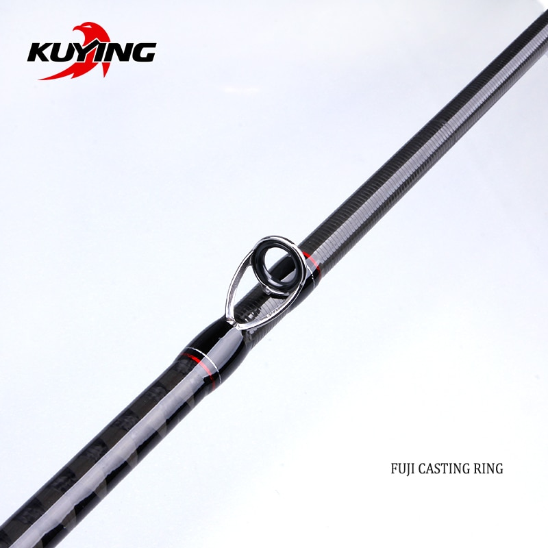 KUYING Leadership 2.16m 2.28m 2.4m 2.58m 2.7m Spinning Casting Lure Fishing Rod Pole Carbon Cane FUJI Medium Fast Universal enlarge