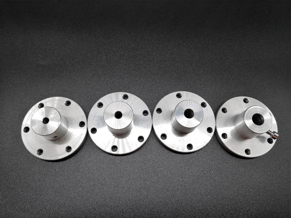 Acoplamiento del eje del Motor, 6mm/8mm/10mm eje del Motor de la rueda de Mecanum, ejes del eje de la rueda omnidireccional, para piezas de Robot, DIY