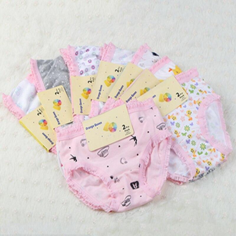 6 unids/lote de calzoncillos para niñas, pantalones cortos para niños, bragas estampadas, bragas para niñas de algodón, bragas pequeñas para niñas, traje de 2 a 10 años