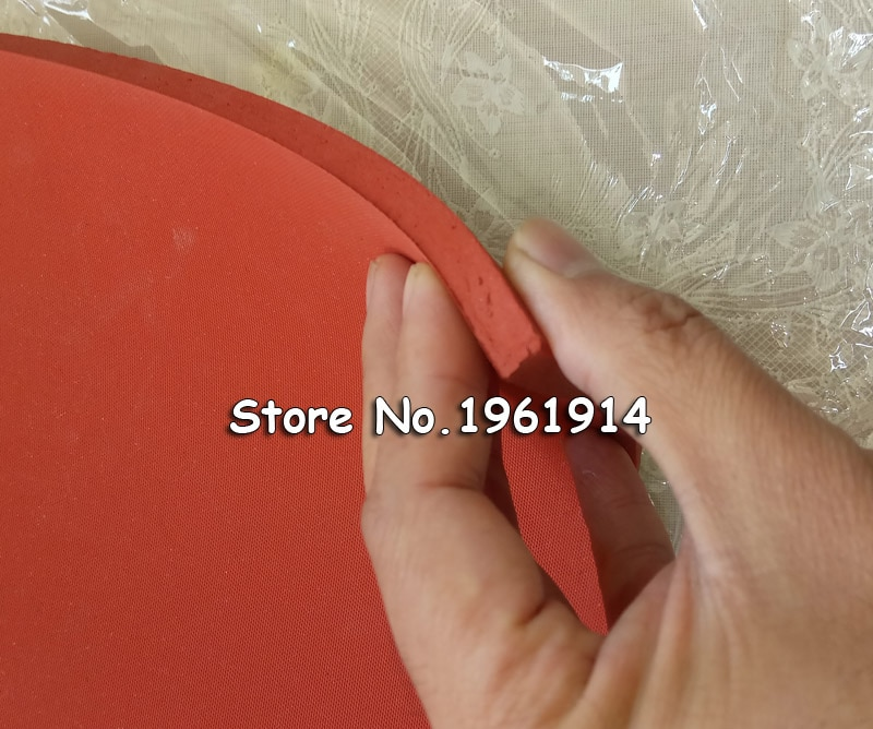 Envío Gratis hoja de silicona de espuma resistente a altas temperaturas cualquier tamaño que elija, grosor 8mm Máquina de transferencia de calor