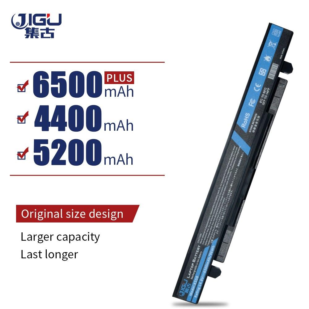 JIGU batería de portátil para Asus K550V K550L K550C K450V K450L K450C F552V F552C F550V F550L F450V F450L A550V A550L A550C A450V