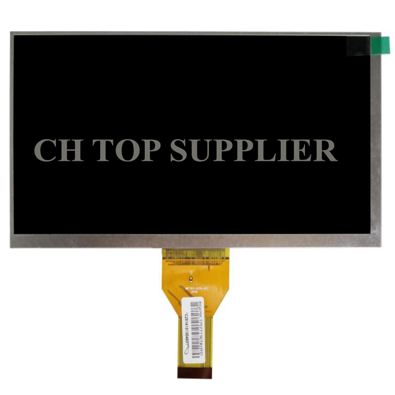 "Nuevo 7 ""Digma optima 7,5 3G TT7025MG tableta 30 pines LCD pantalla matriz 1024*600 TFT LCD reemplazo del Panel de pantalla envío gratis"