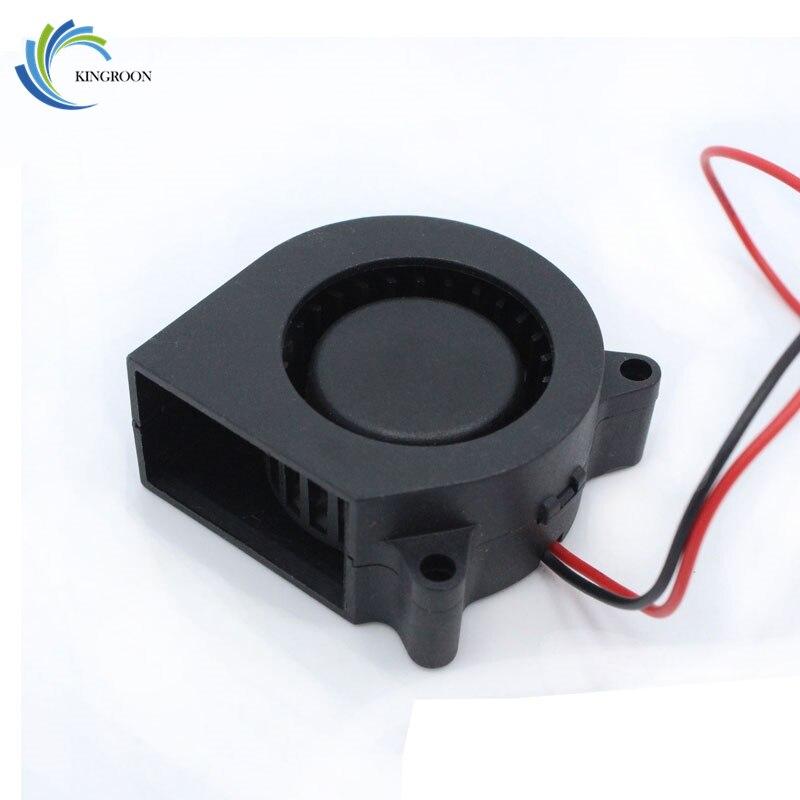 Free Shipping 3D printer accessories 12V 4020 turbo fan blower cooling fan