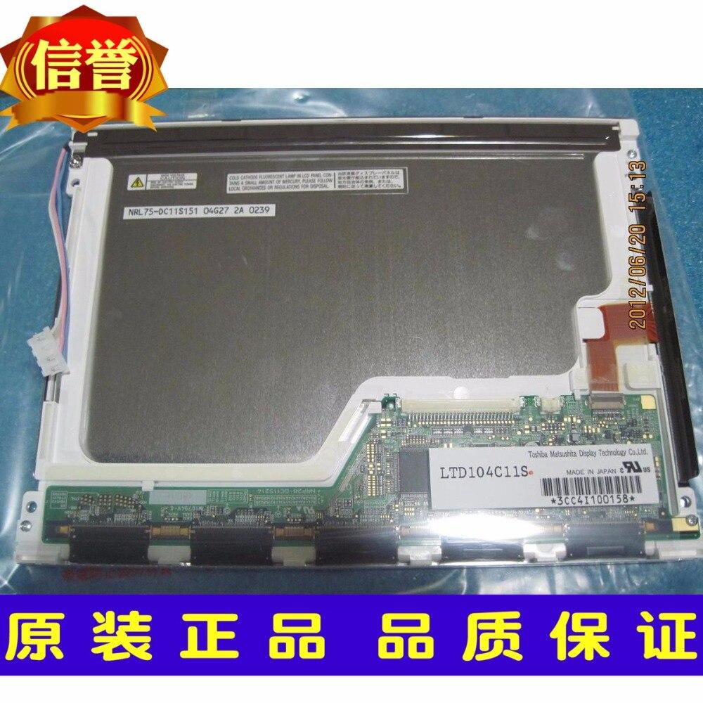 Original nuevo 10,4 pulgadas de control industrial pantalla LCD LTD104C11S LTD104C11U pantalla