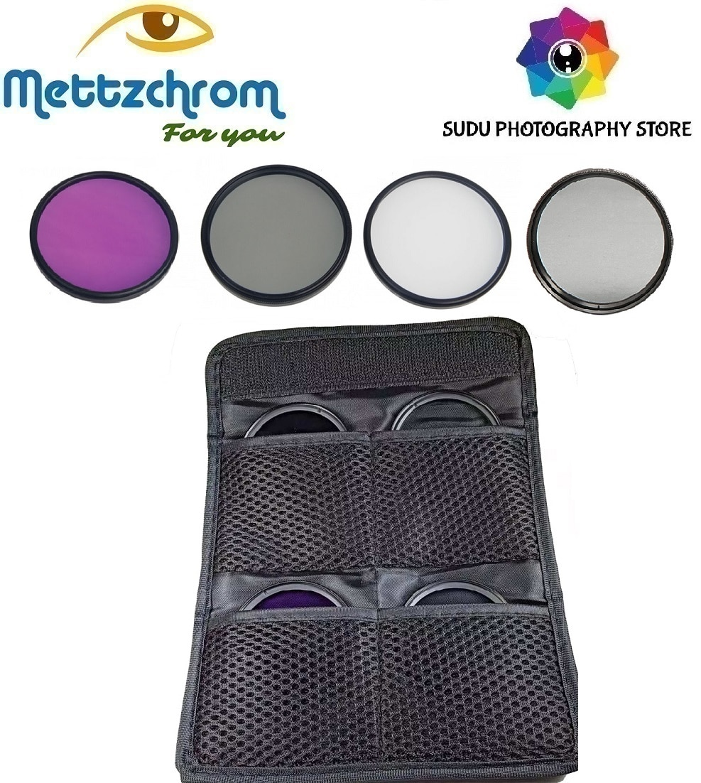 UV CPL FLD ND4 Filter Kit 39mm 49mm 52mm 55mm 58mm 62mm 67mm 72mm 77mm Filter Set for canon nikon