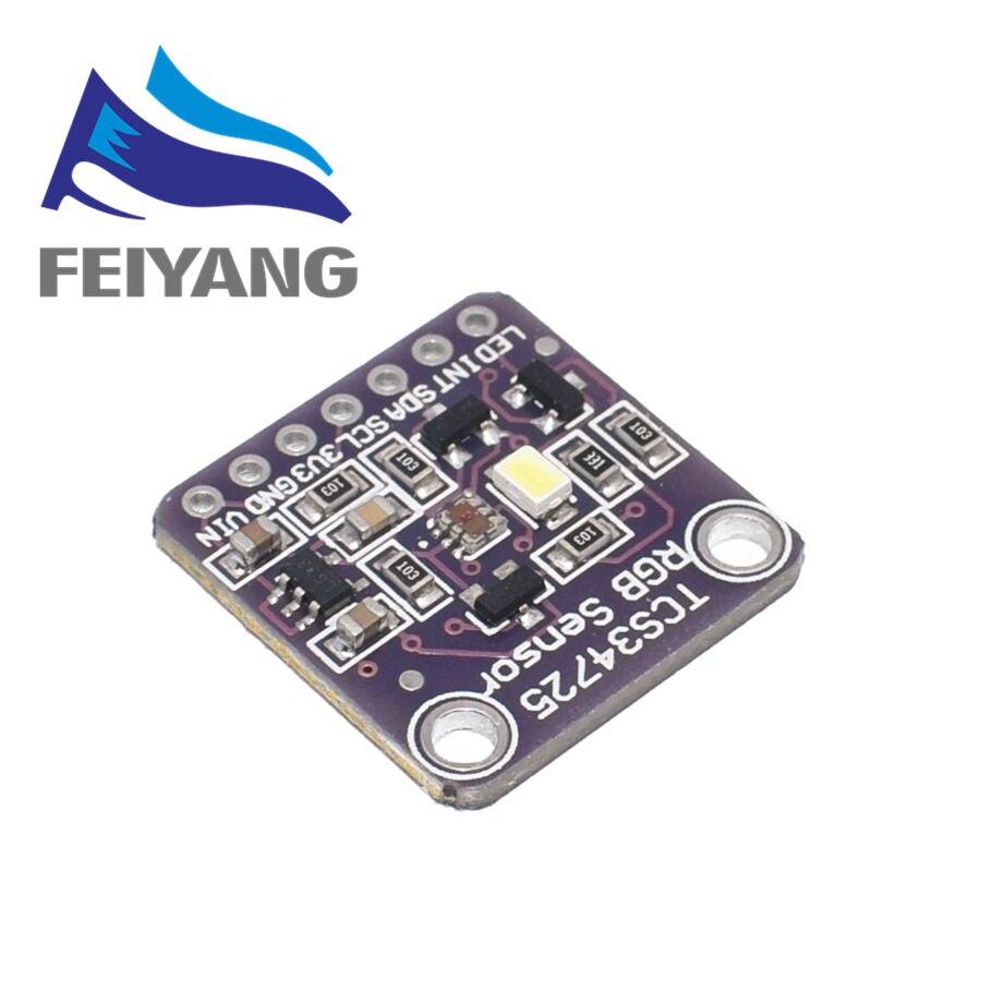 10 шт. 34725 TCS34725 датчик цвета RGB датчик цвета разработка Модуль платы