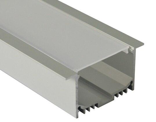 10m/Lot DHL Free shipping 100cm length large led aluminum channel surface mounted industrial led profile led strip holder
