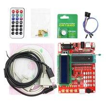 Обучающая плата PIC микроконтроллер, Экспериментальная плата PIC микроконтроллер, макетная плата 16F877A PIC16F877A, видеообучающие программы