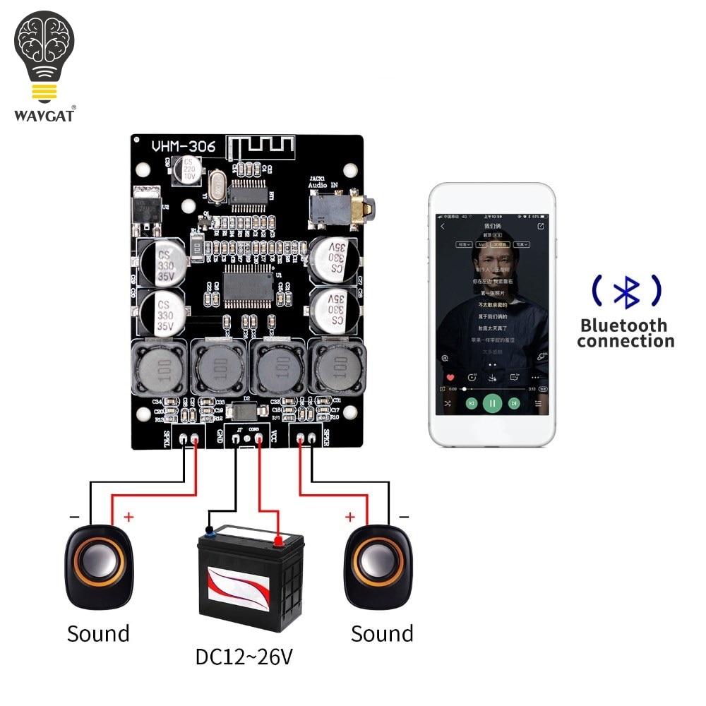 TPA3118-placa amplificadora Digital Bluetooth 4,2, 9-26V, 9-26V DC, amplificador de potencia, modelo...
