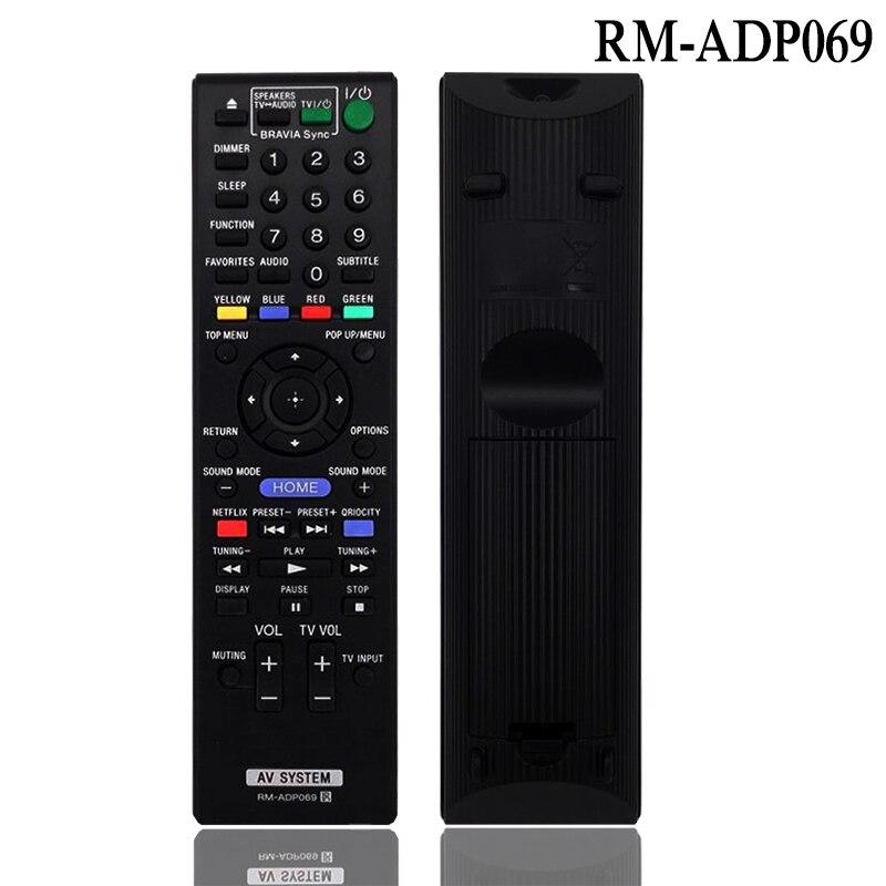 Control remoto RM-ADP069 para Sony BDV-N890W/Z BDV-T57 BDV-F7 HBD-F7 BDV-E280 HBD-T58 BDV-T58...
