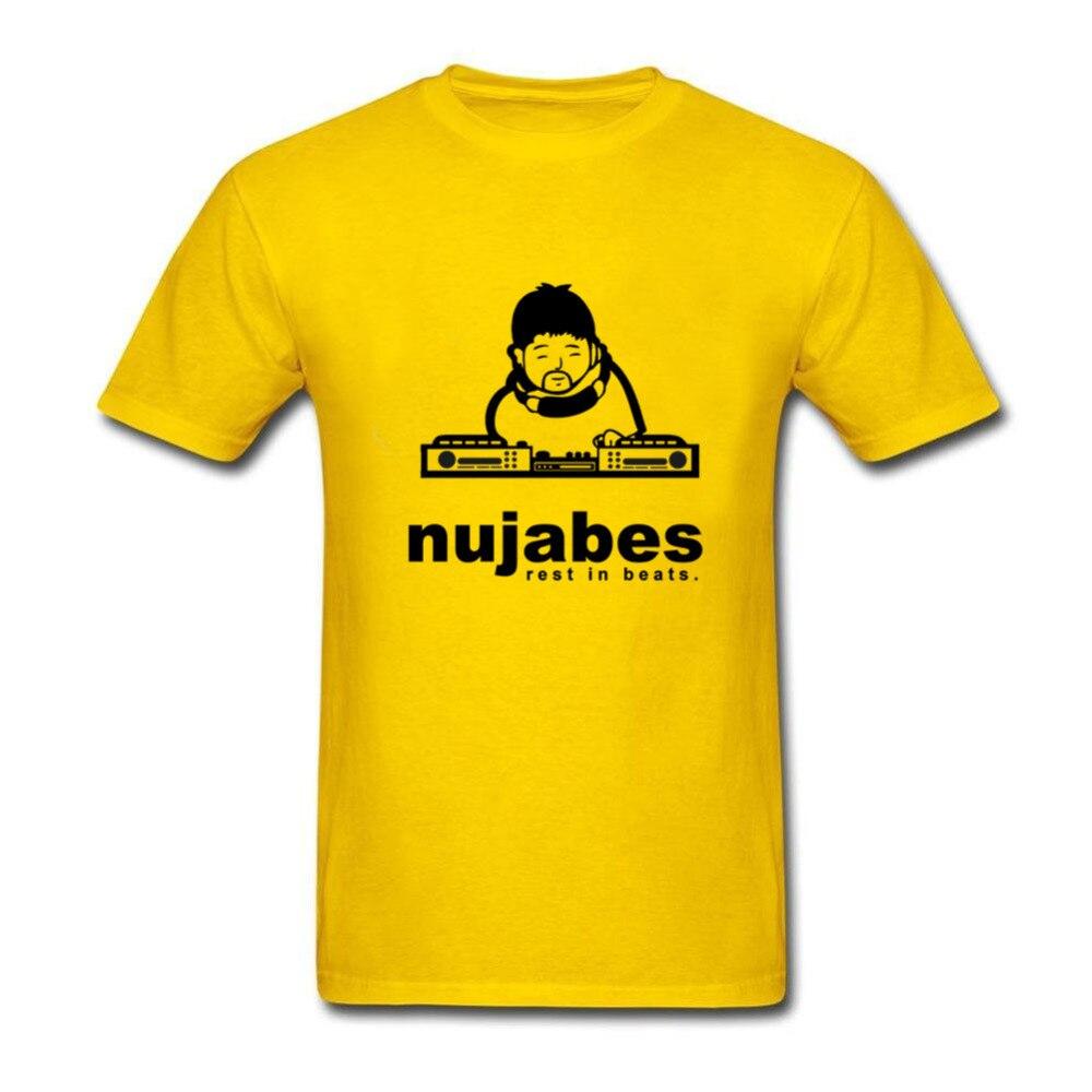 Popüler Erkekler Wpid Nujabes T Gömlek 90 s Orijinal Hipster t-shirt XXXL Kısa Kollu Genç Toilette Için Tops