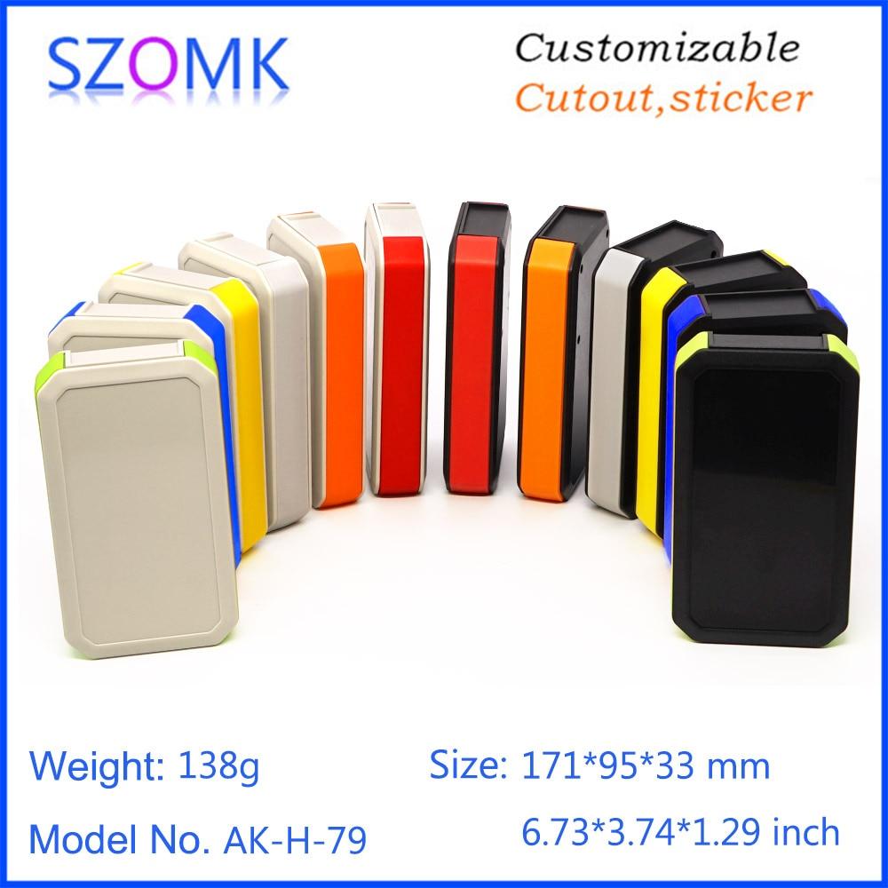 1 peça 171*95*33mm venda quente handheld gabinete para caixa de junção eletrônica ip65 à prova dip65 água instrumento habitação dispositivo caixa