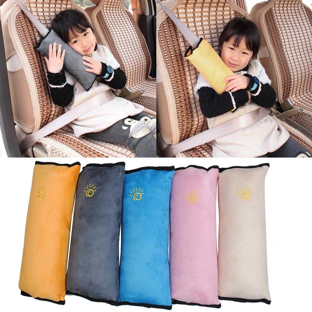 Arnés de cinturón de seguridad para coche de bebé, cubierta de hombrera, fundas de protección para niños, cojín, almohada de apoyo, envío directo