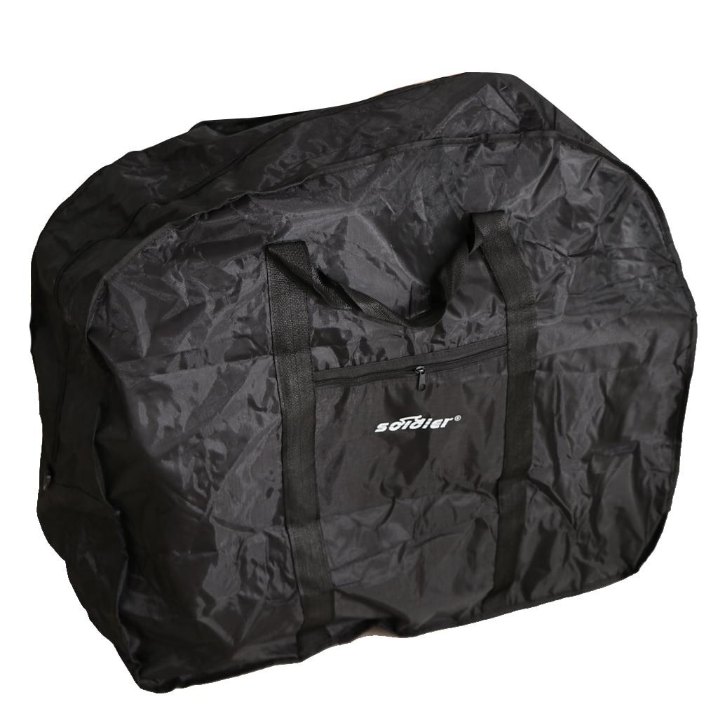 Bolsa de viaje Universal de carga de bolsas de paquete llevar caja de transporte para bicicleta de montaña plegable bicicleta