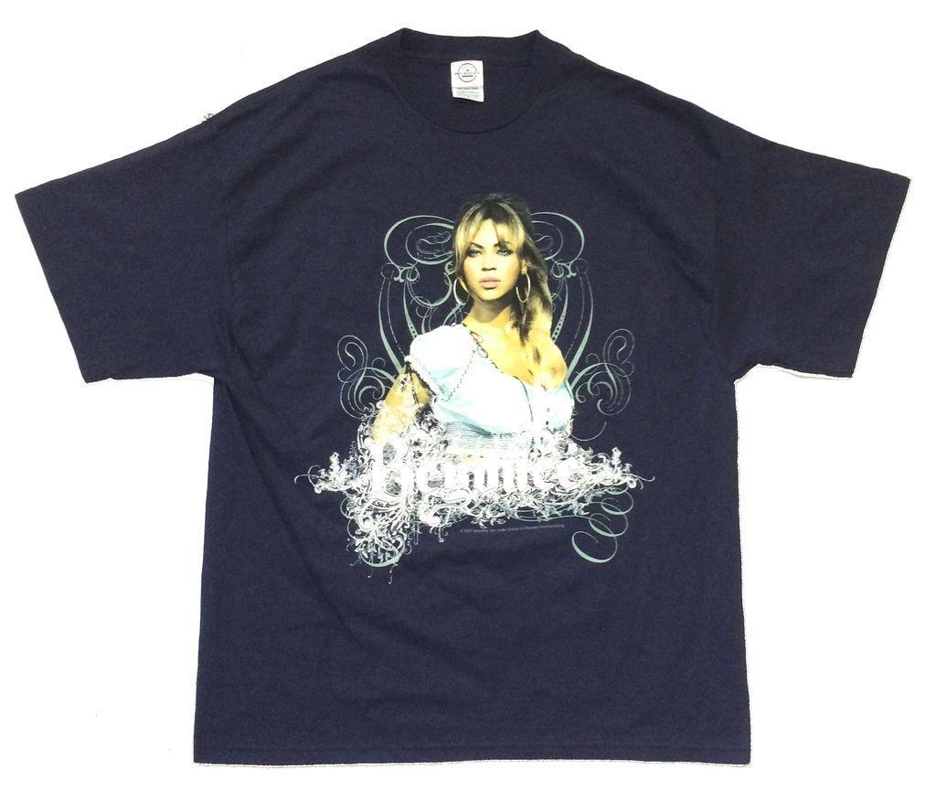 Beyoncé, camiseta de la gira mundial de la experiencia azul marino, nueva camiseta oficial con licencia, camiseta para hombre estilo de verano Kawaii