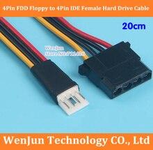 DHL/EMS livraison gratuite 4Pin FDD disquette mâle à 4Pin IDE disque dur adaptateur dalimentation câble 200 pcs/lot