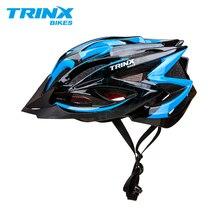 Casco de bicicleta TRINX casco de bicicleta casco de ciclismo profesional MTB casco de carretera de montaña bicicleta de carreras gorra ajustable de seguridad