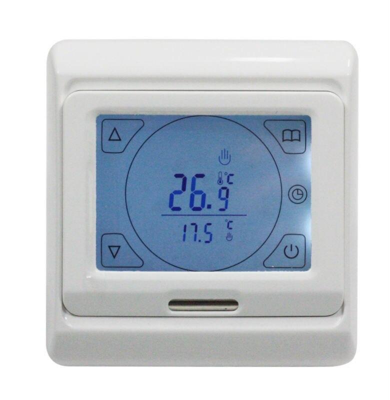 Программируемый термостат с сенсорным экраном 220 В переменного тока 16 А для