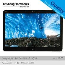 "12.5 ""LP125WF1-SPA3 LP125WF1 SPA2 Per dell XPS 12 9Q33 9Q23 lcd touch screen display di ricambio assmebly"