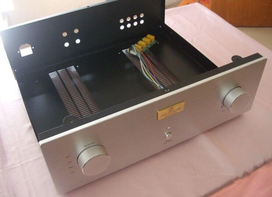 Size430 * 140*368 مللي متر AMP-140B مكبر للصوت الشاسيه/الحديد الألومنيوم الشاسيه/دمج مكبر للصوت الشاسيه/أمبير الخلفي الشاسيه/amp حالة ضميمة