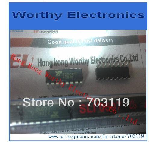Бесплатная доставка 10 шт./лот XR2206CP 2206CP 2206 DIP-16