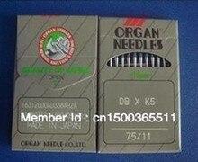 Agujas de órganos japoneses de alta calidad 100 piezas para máquina de bordado Industrial Tajima Barudan DB * K5