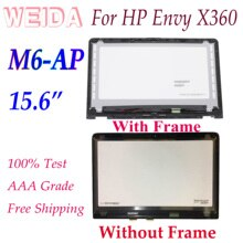 "WEIDA LCD repuesto para HP envidia X360 M6-AP serie M6 AP 15,6 ""LCD de pantalla táctil asamblea de pantalla marco 1920x1080 2560x1440"