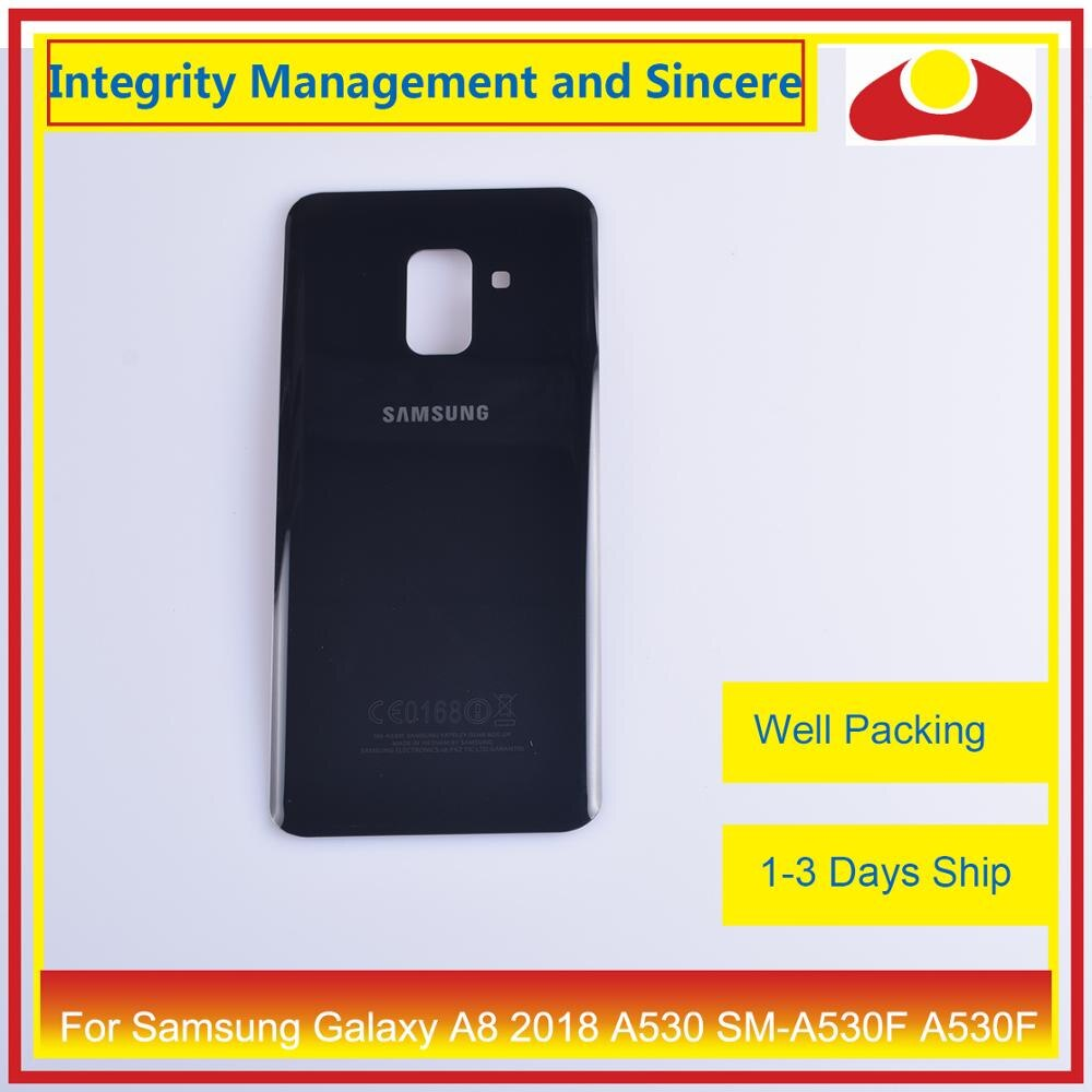 50Pcs/lot For Samsung Galaxy A8 Plus 2018 A730 SM-A730F A730F Housing Battery Door Rear Back Cover Case Chassis Shell A8+ Cover enlarge
