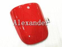 Housse de siège arrière rouge Kawasaki ZX6R   Couverture de siège arrière zx6r 2000 2001 2002 636 00 01 02 ZX6R