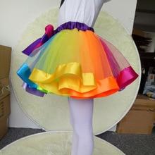 2017 Baby Girl Pettiskirts Net Veil Skirt Kids Cute Princess Clothes Birthday Gift Toddler Ball Gown Party Kawaii TUTU Skirts