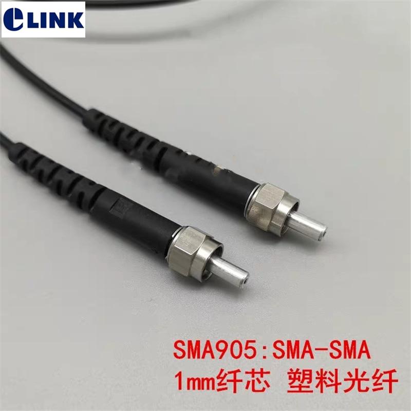 1M SMA905 patchcords 1.0 مللي متر النواة SMA-SMA SMA-FC SMA-ST المعادن الطويق الصناعية التحكم مضاعفات الطبية البلوز شحن مجاني ELINK
