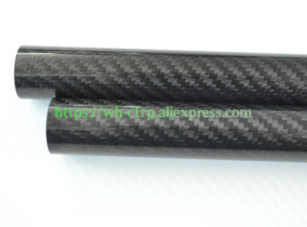 OD 12mm X ID 8mm X 10mm X 11mm x Length 500mm Carbon Fiber Tube (Roll Wrapped)Model , with 100% full carbon 12*8  enlarge