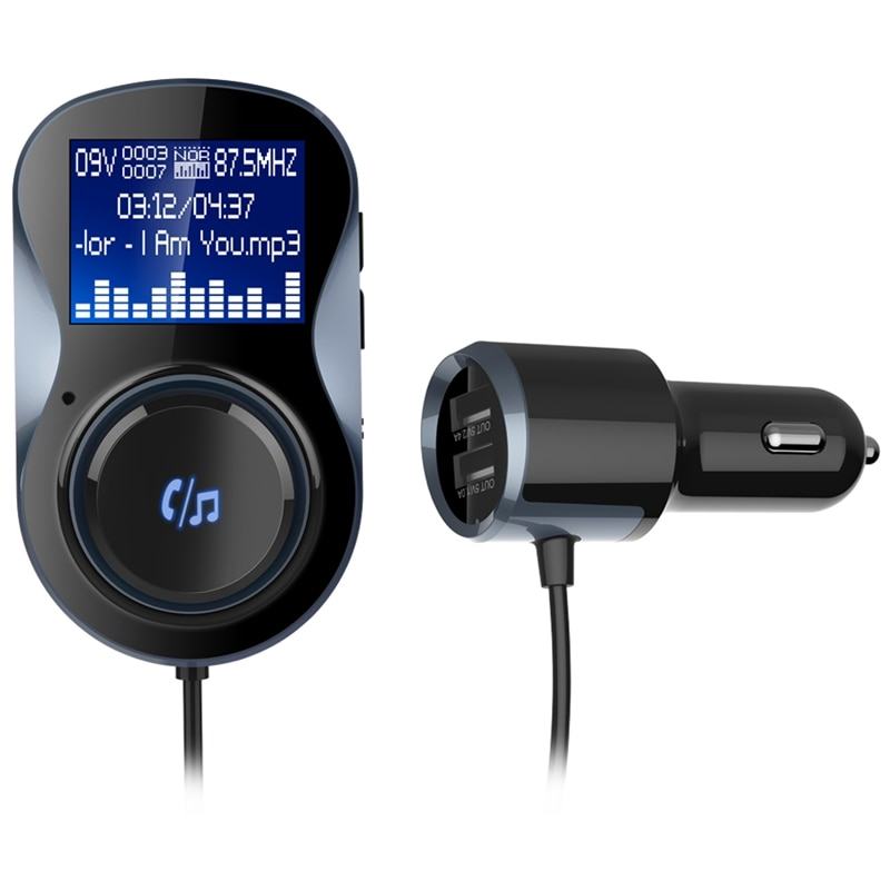 IMars BC30 coche 4,1 EDR bluetooth MP3 reproductor manos libres Dual USB transmisor FM cargador de coche