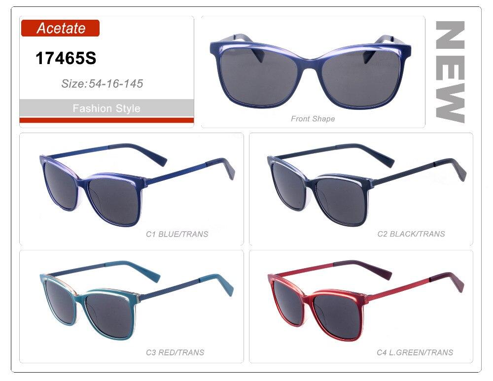 Wholesale Men Handmade Acetate Polarized Burgundy Sunglasses